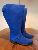 Maat 38 Kuit 52 Balmoral Cobalt Suede *CLEARANCE*
