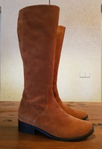 Maat 38 Kuit 32 Burleigh Roest Suede *CLEARANCE*